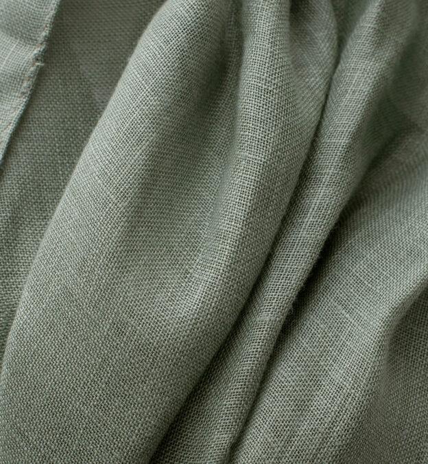 Sage Linen Scarf