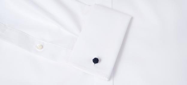 Navy Silk Knots