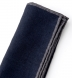 Zoom Thumb Image 1 of Navy and Grey Cotton and Wool Pocket Square