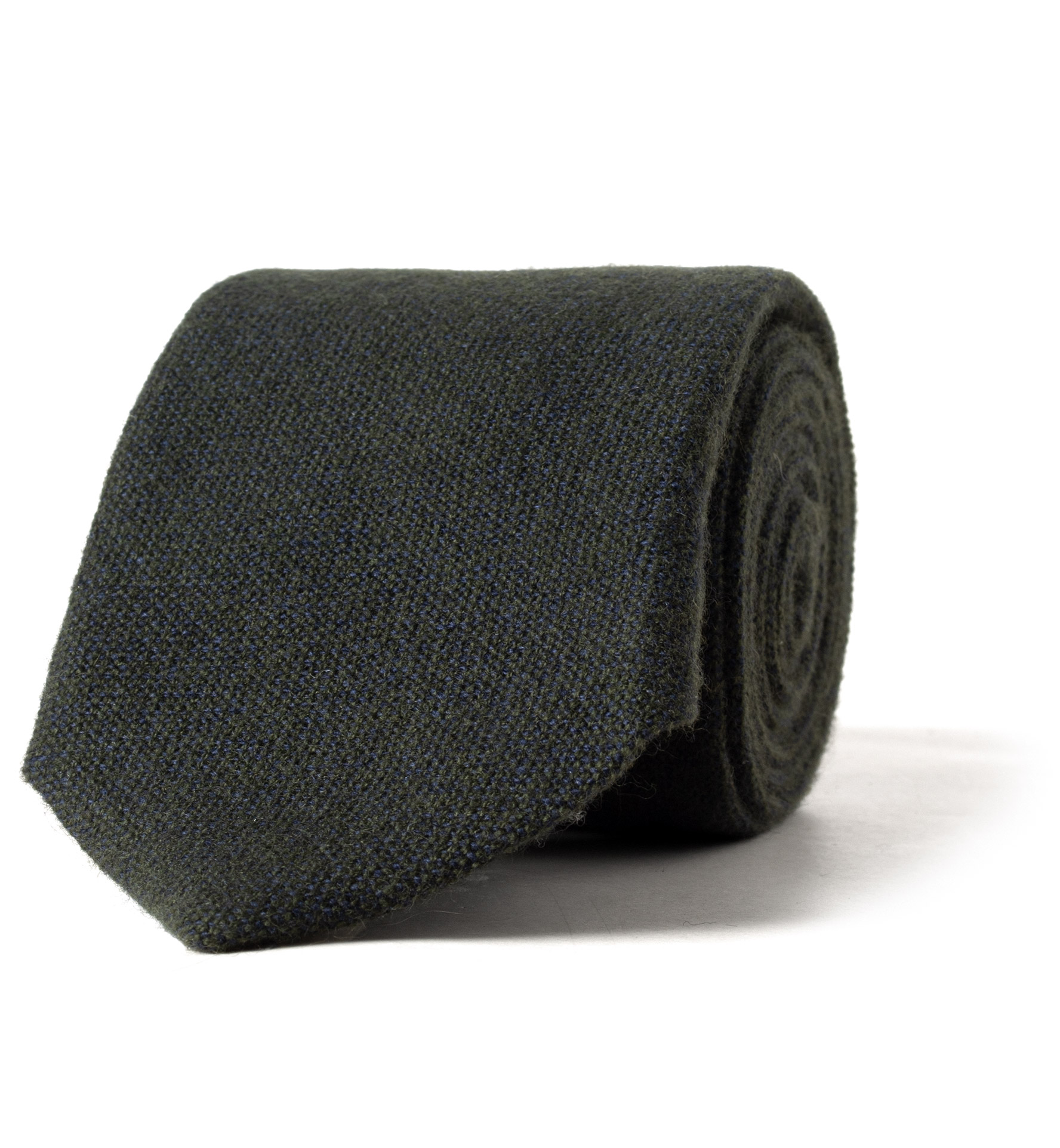 Zoom Image of Forest Green Cashmere Tie