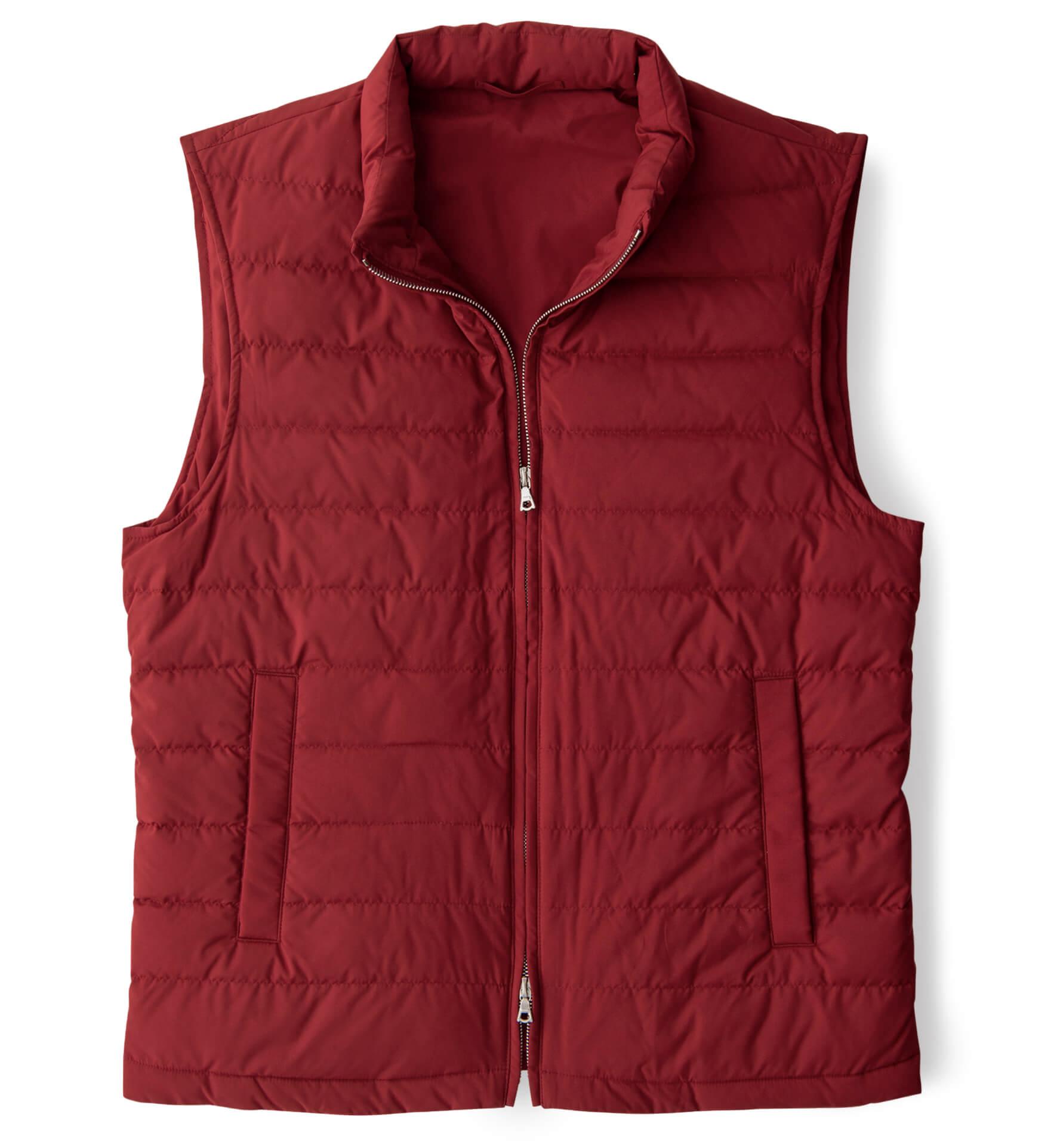 Zoom Image of Brera Red Performance Zip Vest