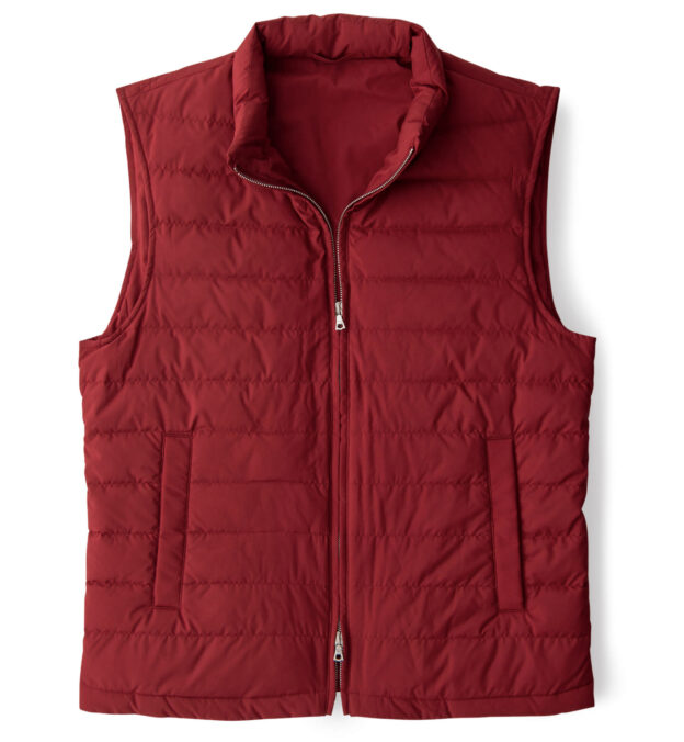 Brera Red Performance Zip Vest