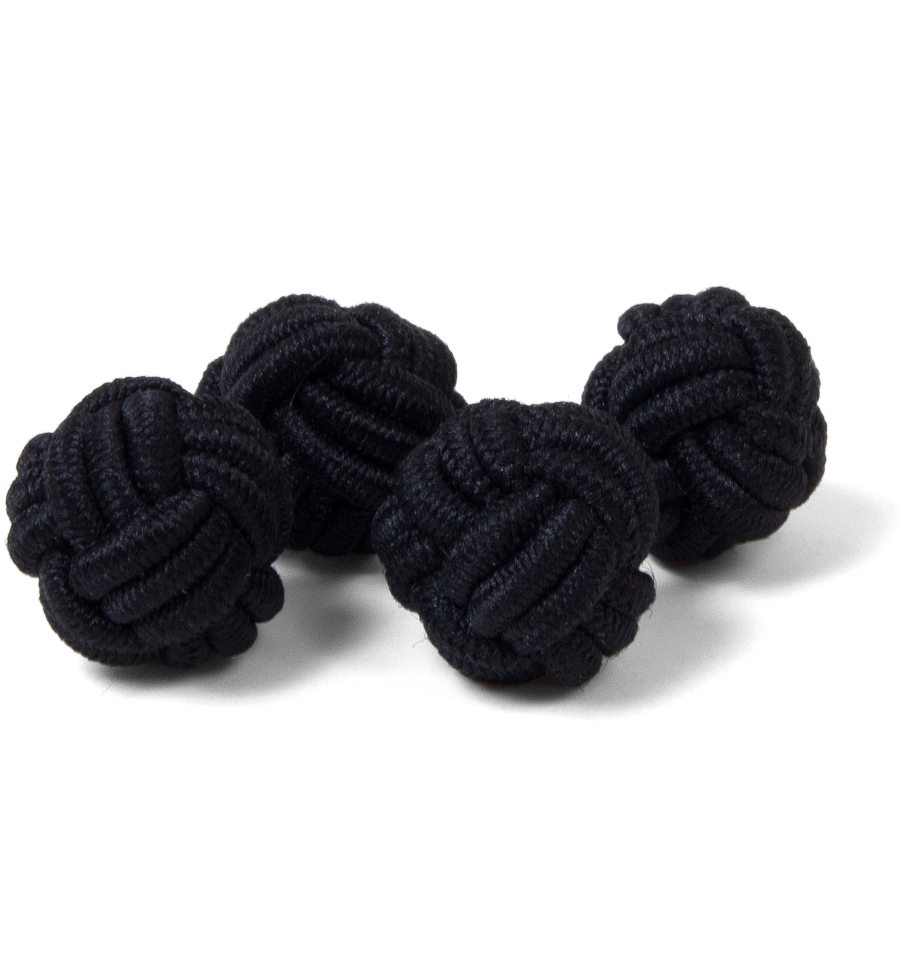 Zoom Image of Black Silk Knots