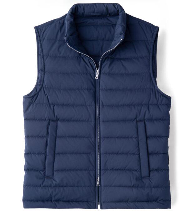 Brera Navy Performance Zip Vest