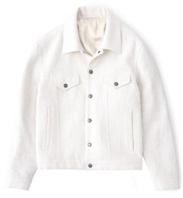 Lafayette Cream Trucker Jacket