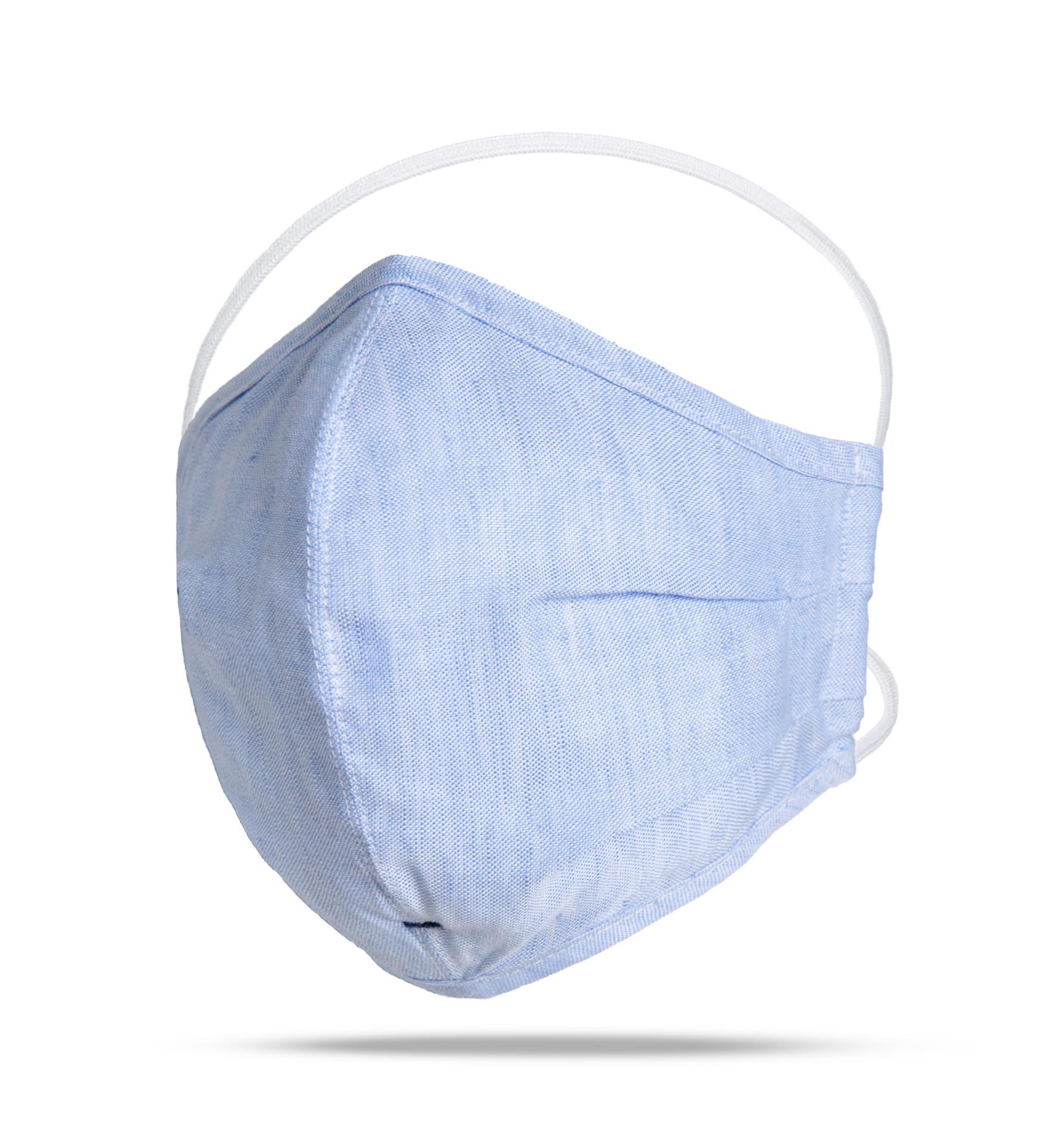 Zoom Image of Blue Linen Blend