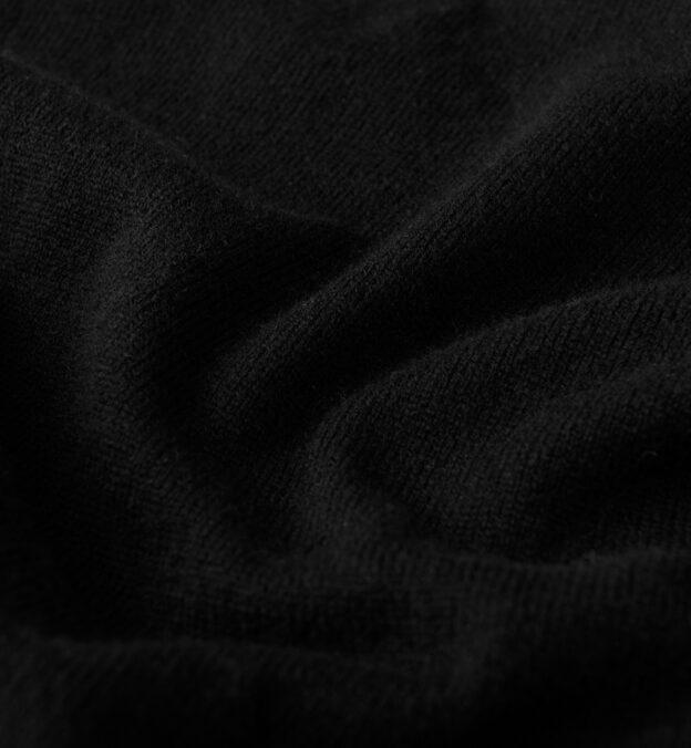 Black Cashmere Crewneck