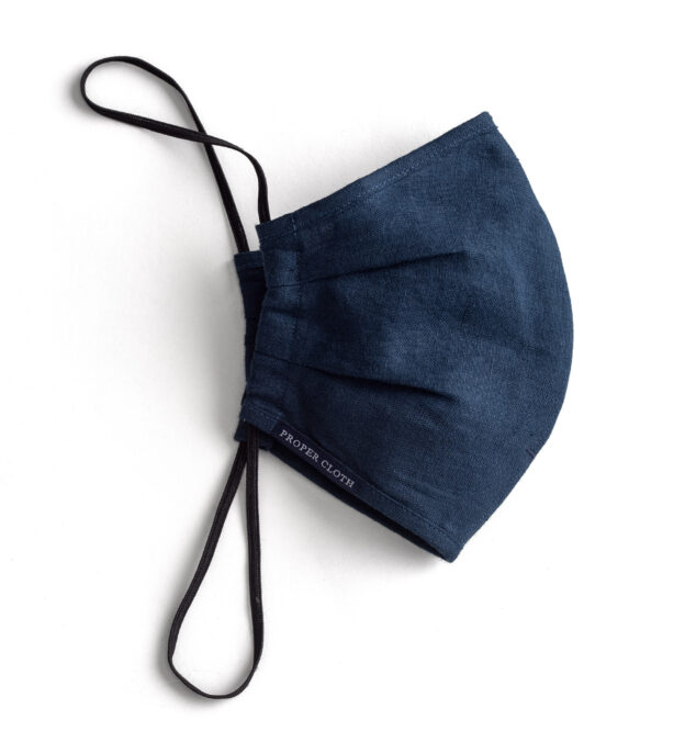 Larger Zoom Image of Navy Linen