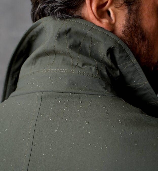 Bond Fatigue Green Storm System Raincoat