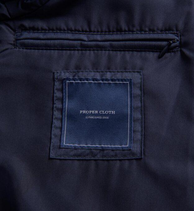 Lucca Slate Blue Merino Wool Jacket