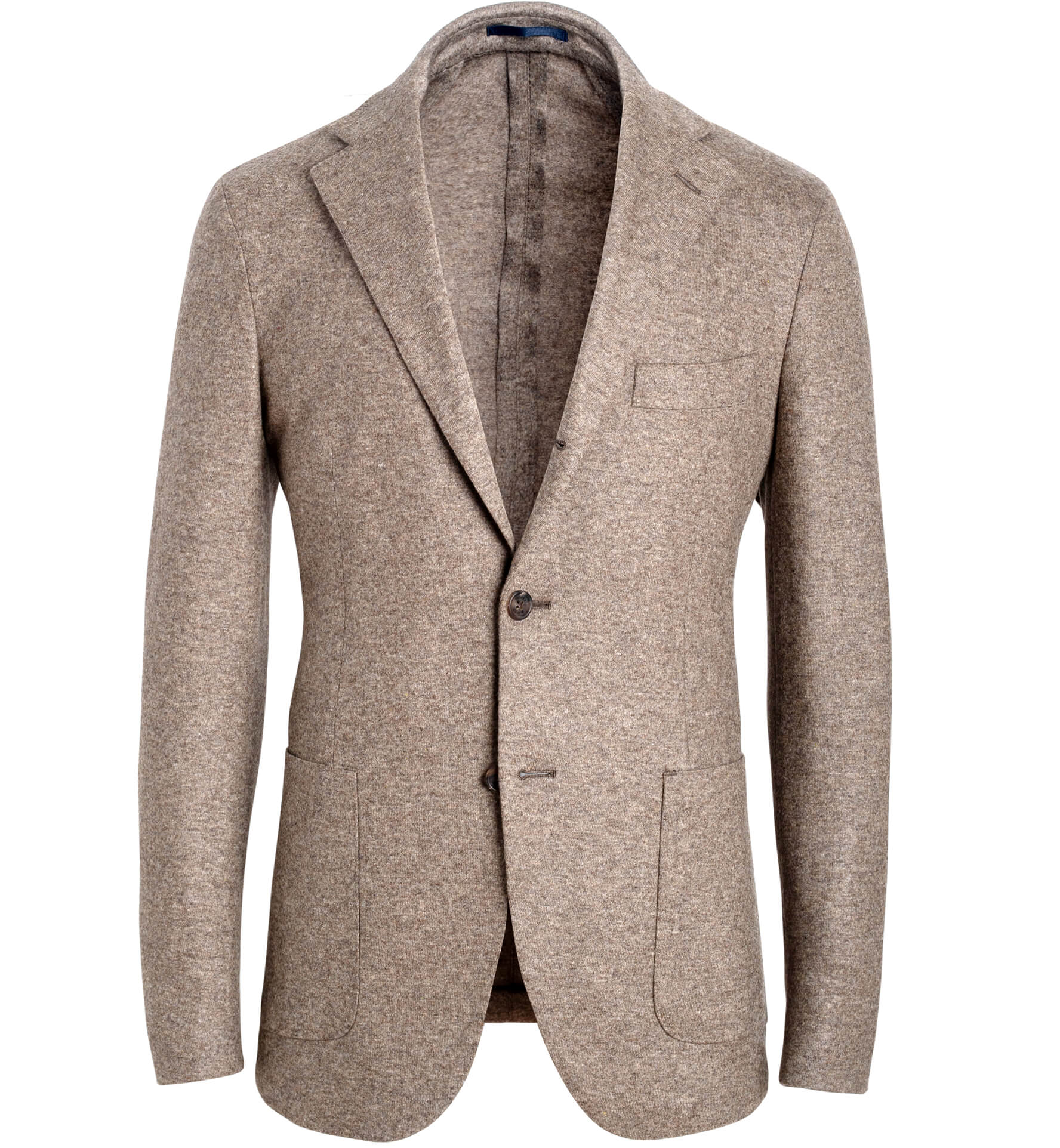 Zoom Image of Waverly Taupe Knit Wool Jacket
