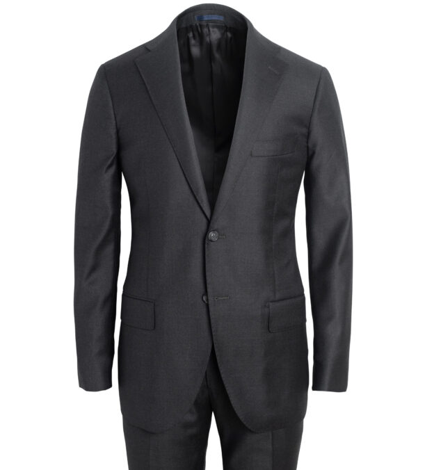 Mercer Grey S130s Wool Suit