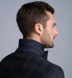 Zoom Thumb Image 6 of Bedford Navy and Grey Plaid Wool and Cashmere Jacket