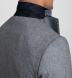 Zoom Thumb Image 3 of Bedford Glacier Blue Herringbone Wool and Cashmere Jacket
