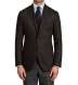 Zoom Thumb Image 1 of Bedford  Walnut Herringbone Wool and Cashmere Jacket