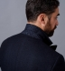 Zoom Thumb Image 7 of Mayfair Navy Wool Silk and Cashmere Flannel Dinner Jacket