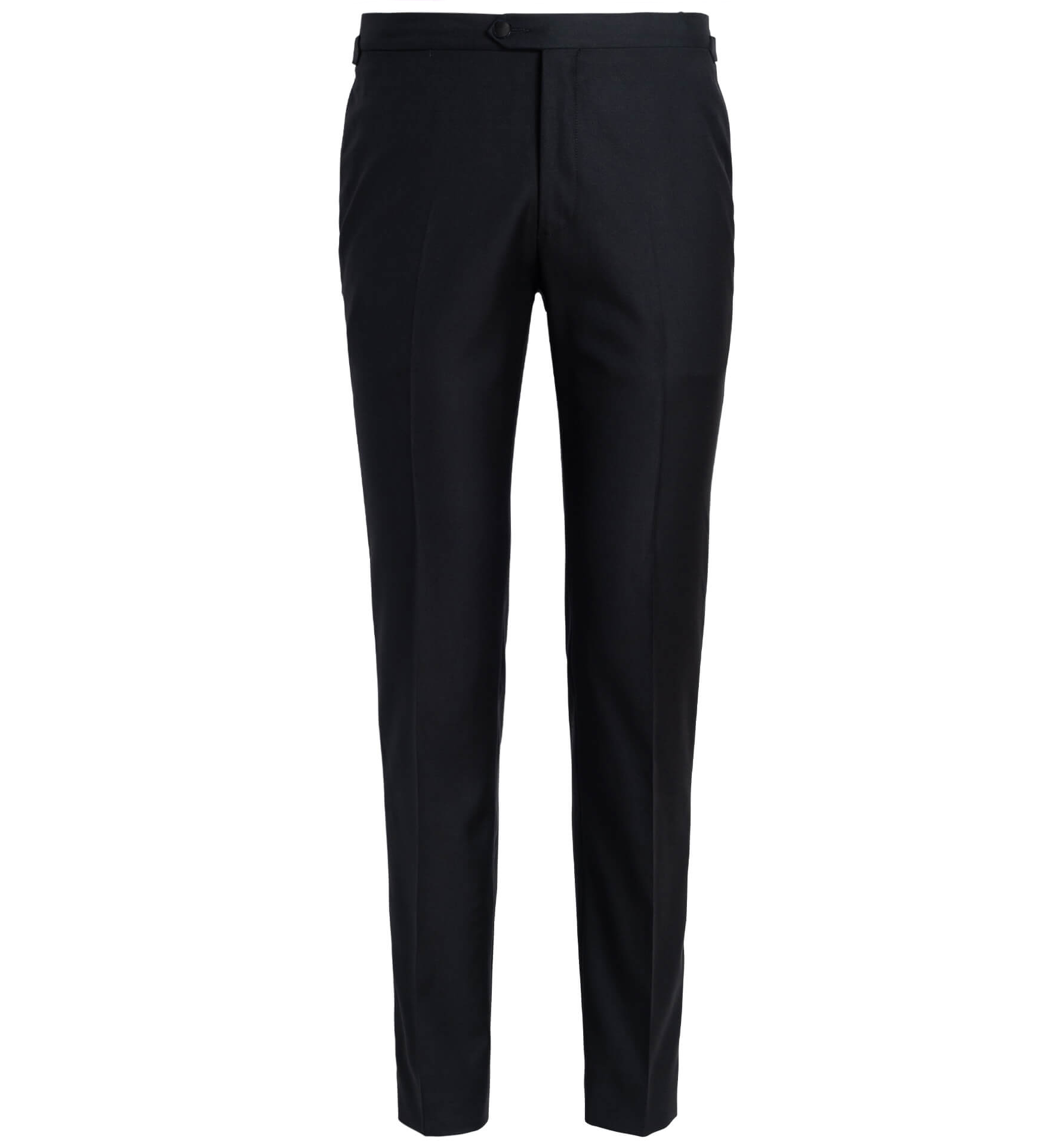 Zoom Image of Mayfair Black Wool Tuxedo Pant