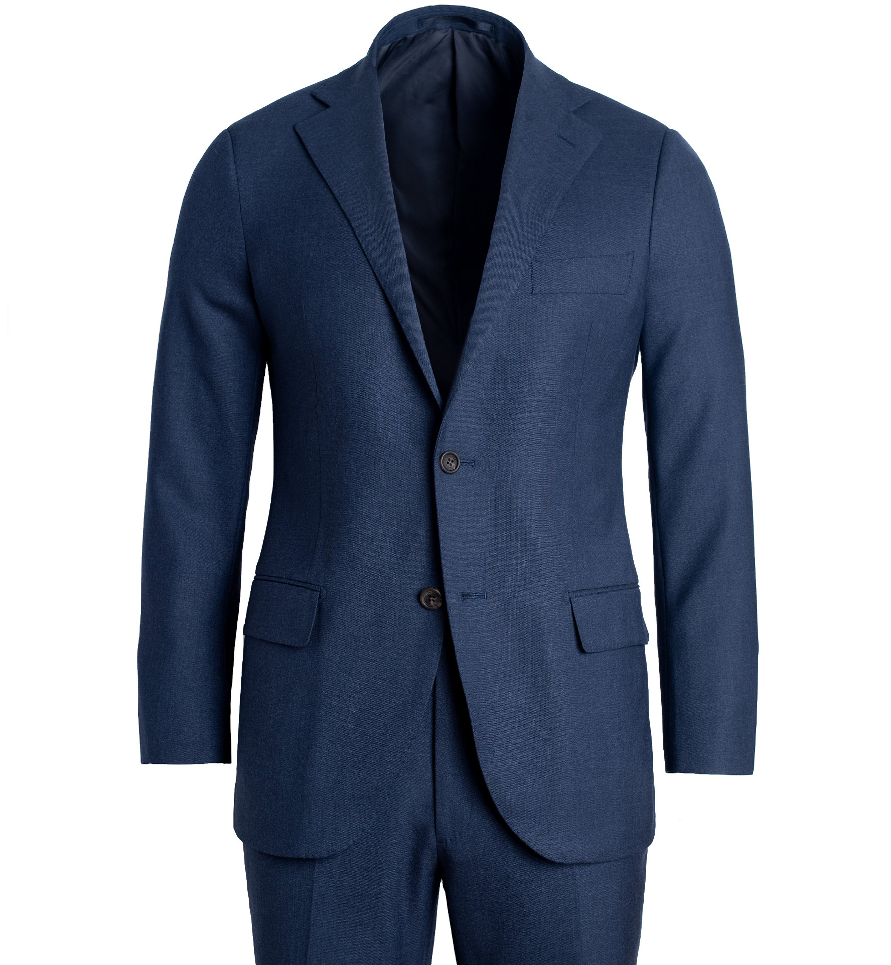 Zoom Image of Allen Navy Comfort Fresco Suit