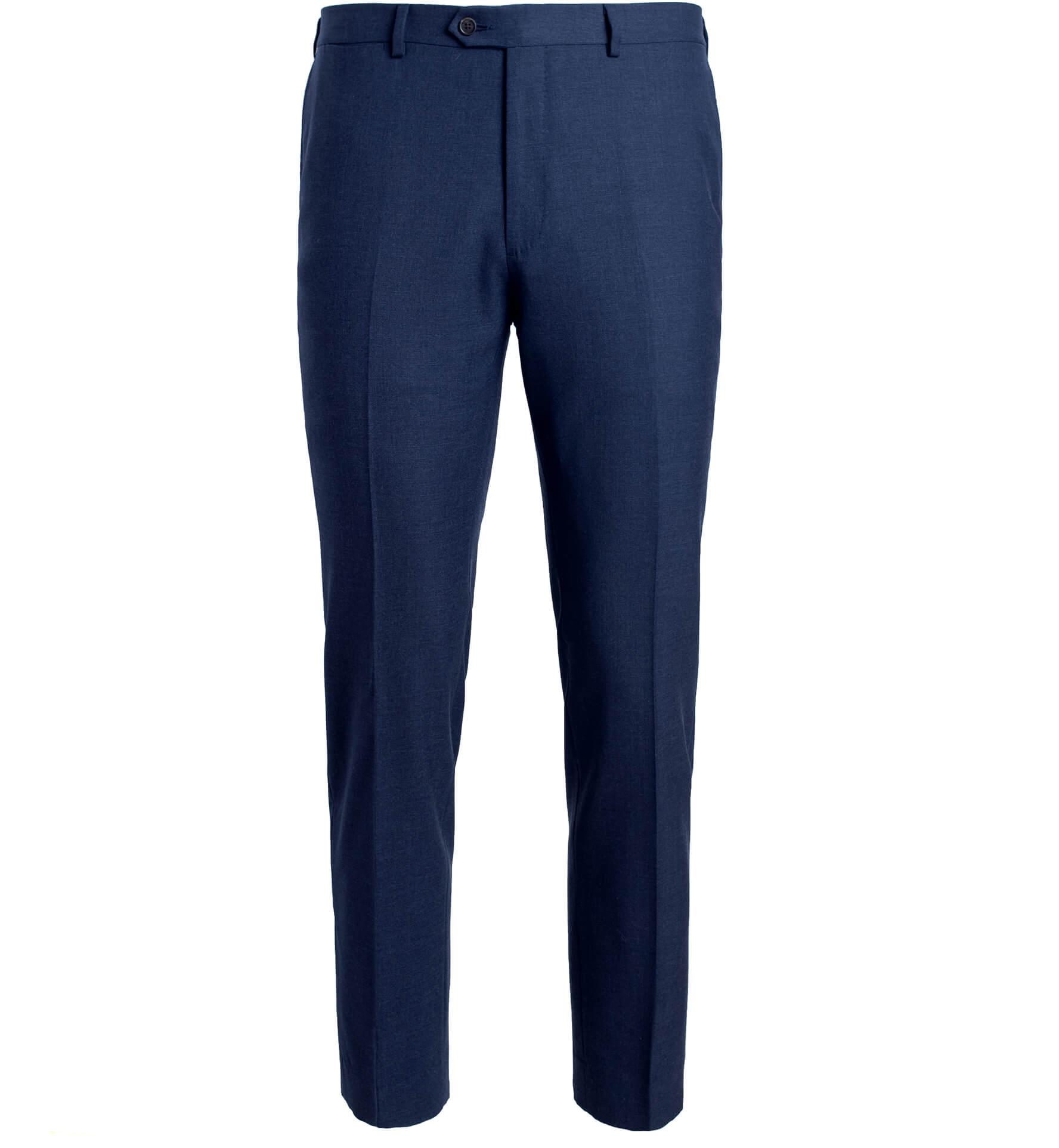 Zoom Image of Allen Navy Comfort Fresco Trouser