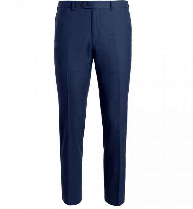 Allen Navy Comfort Fresco Trouser