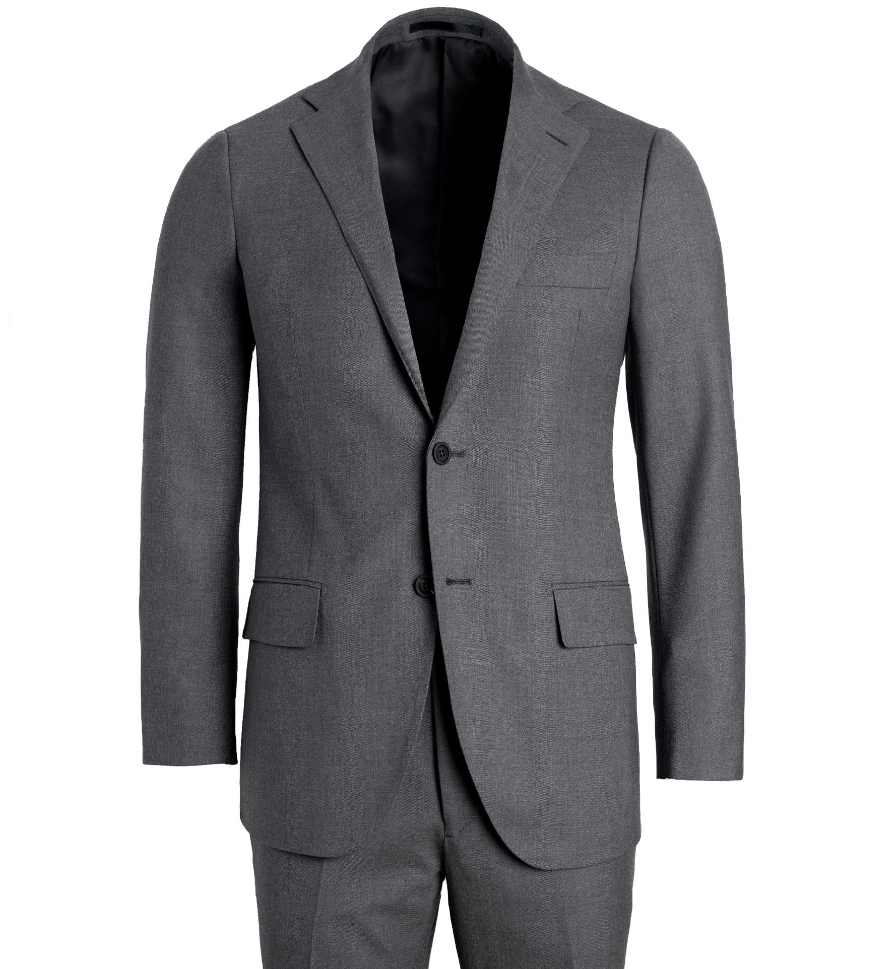 Zoom Image of Allen Grey Comfort Fresco Suit