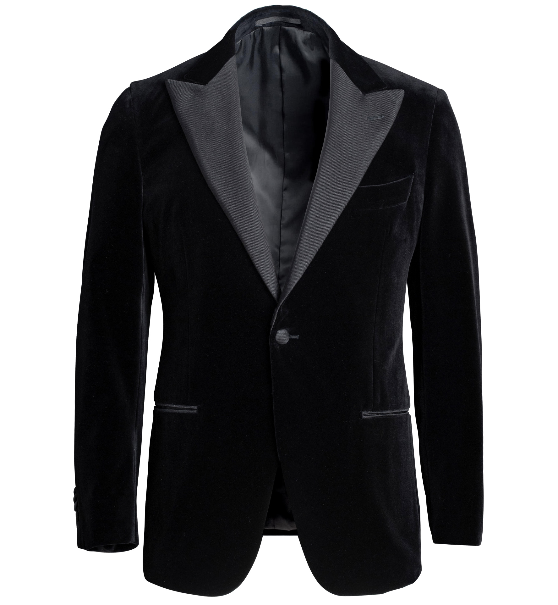 Zoom Image of Mayfair Black Velvet Dinner Jacket