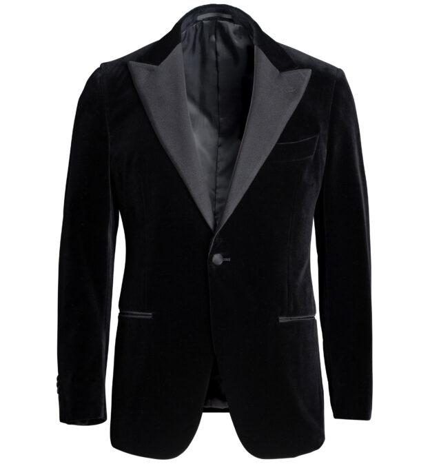 Mayfair Black Velvet Dinner Jacket