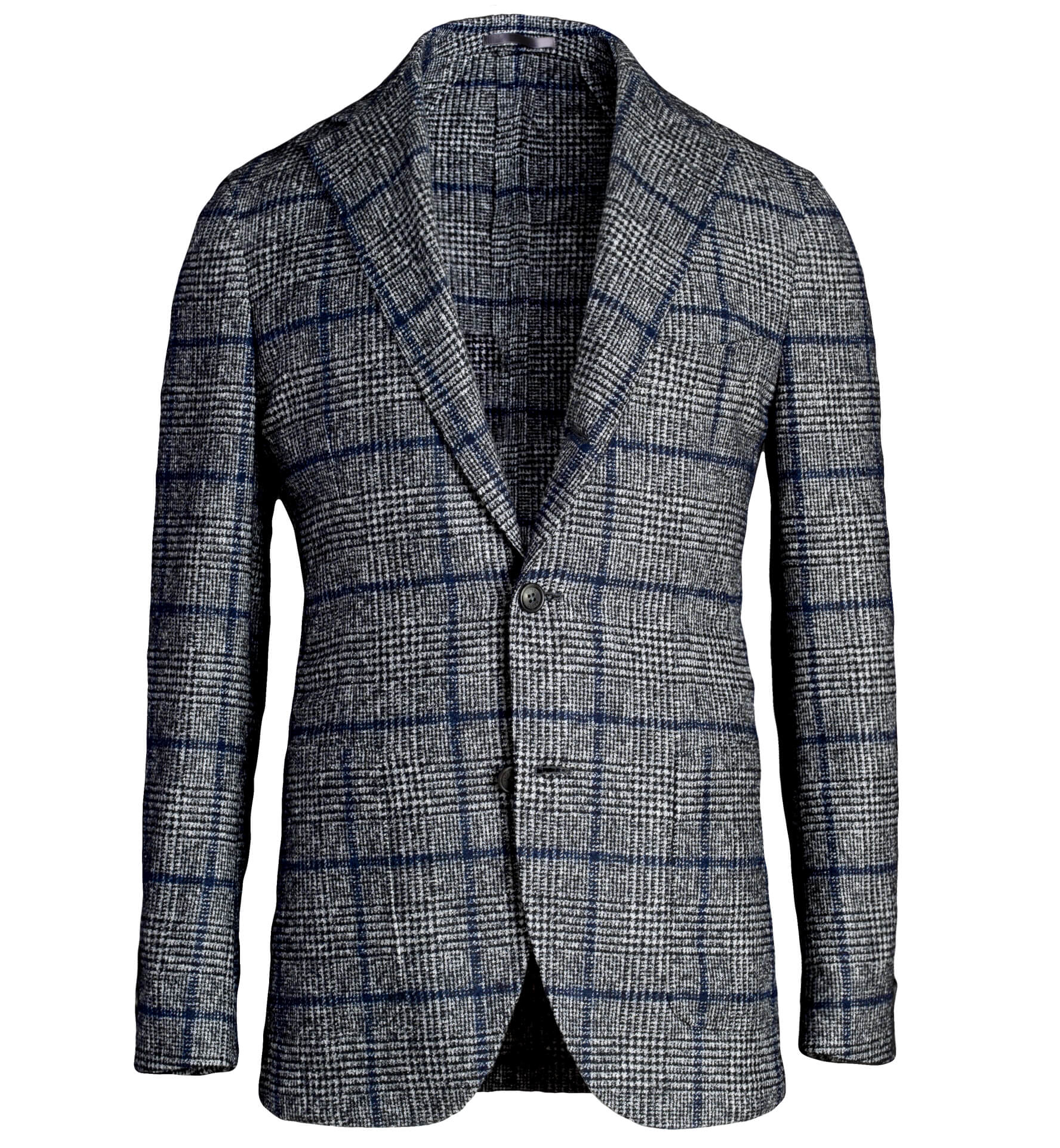 Zoom Image of Waverly Grey Prince of Wales Alpaca Jacket