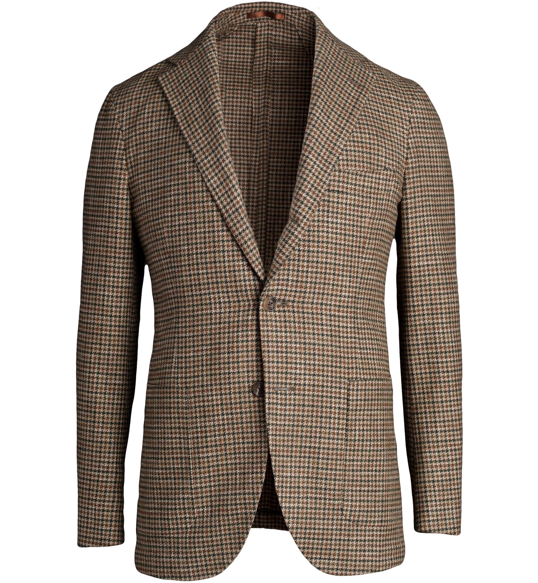 Zoom Image of Waverly Brown Gun Check Wool Jacket