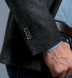 Zoom Thumb Image 5 of Waverly Grey Herringbone Flannel Unstructured Jacket