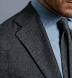 Zoom Thumb Image 4 of Waverly Grey Herringbone Flannel Unstructured Jacket