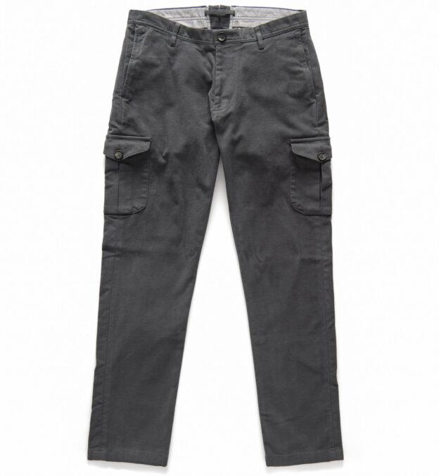 Thompson Grey Moleskin Cargo Pant