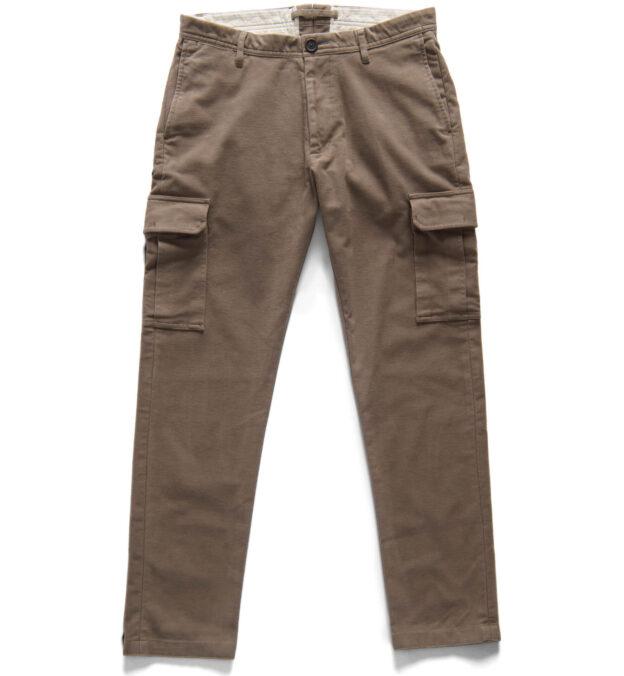 Thompson Taupe Moleskin Cargo Pant