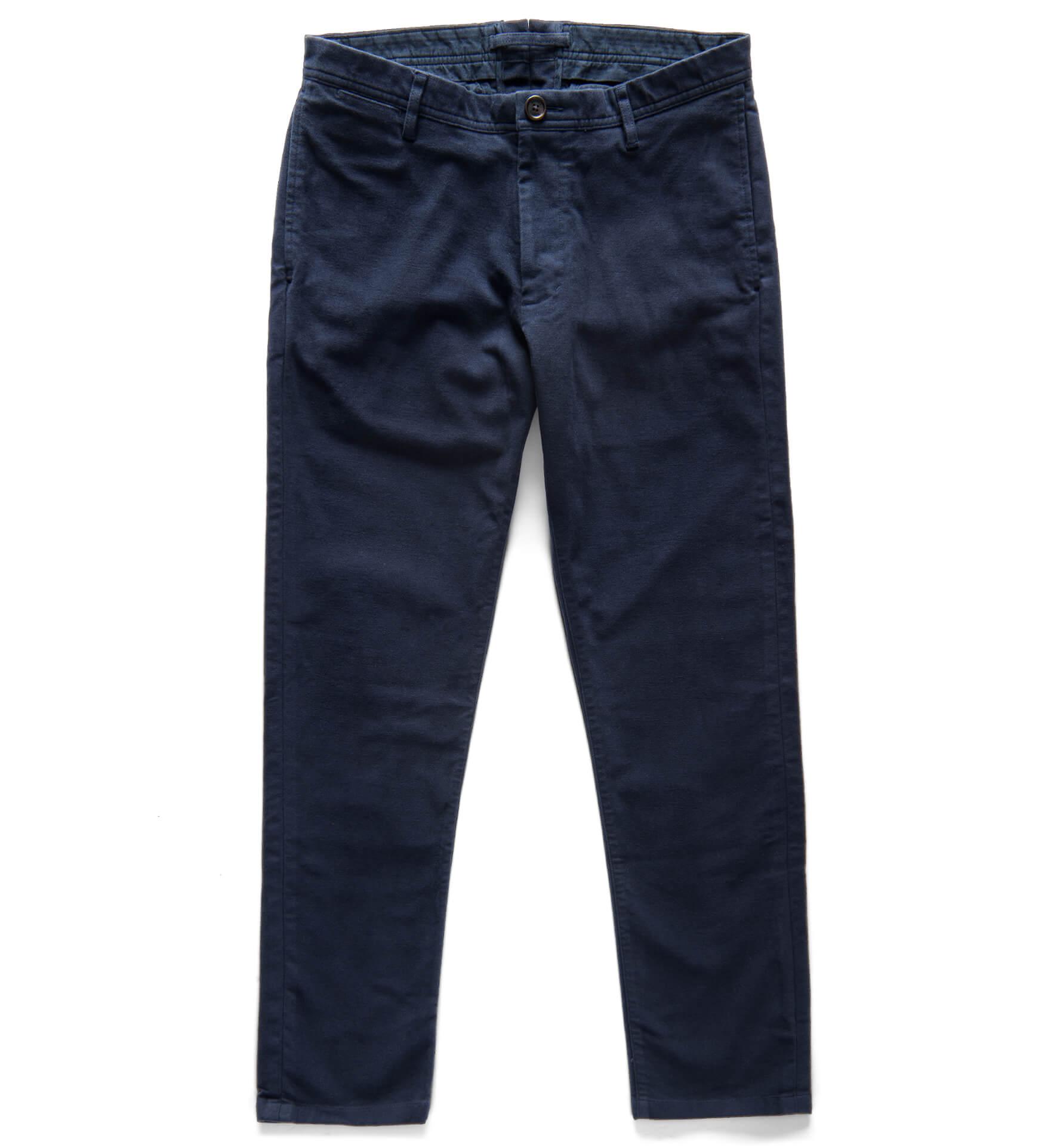 Zoom Image of Bowery Navy Moleskin Pants