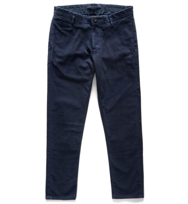 Bowery Navy Moleskin Pants