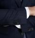 Zoom Thumb Image 6 of Allen Navy Pinstripe S130s Wool Suit
