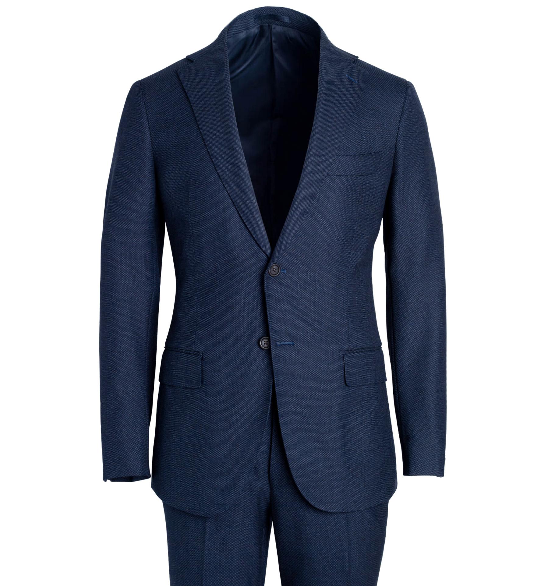 Zoom Image of Allen Slate S130s Birdseye Suit