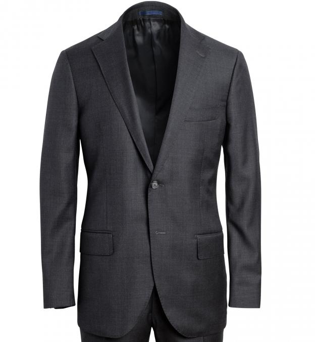 Allen Grey Wool Suit Jacket