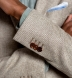 Zoom Thumb Image 5 of Waverly Beige Hemp and Wool Basketweave Jacket