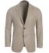 Zoom Thumb Image 1 of Waverly Beige Hemp and Wool Basketweave Jacket
