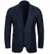 Zoom Thumb Image 1 of Bedford Navy Wool and Linen Twill Jacket