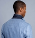 Zoom Thumb Image 7 of Bedford Sky Blue Linen and Wool Hopsack Jacket