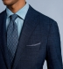 Zoom Thumb Image 5 of Bedford Navy Windowpane Suit