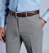 Zoom Thumb Image 4 of Allen Grey Comfort Tropical Fresco Trouser