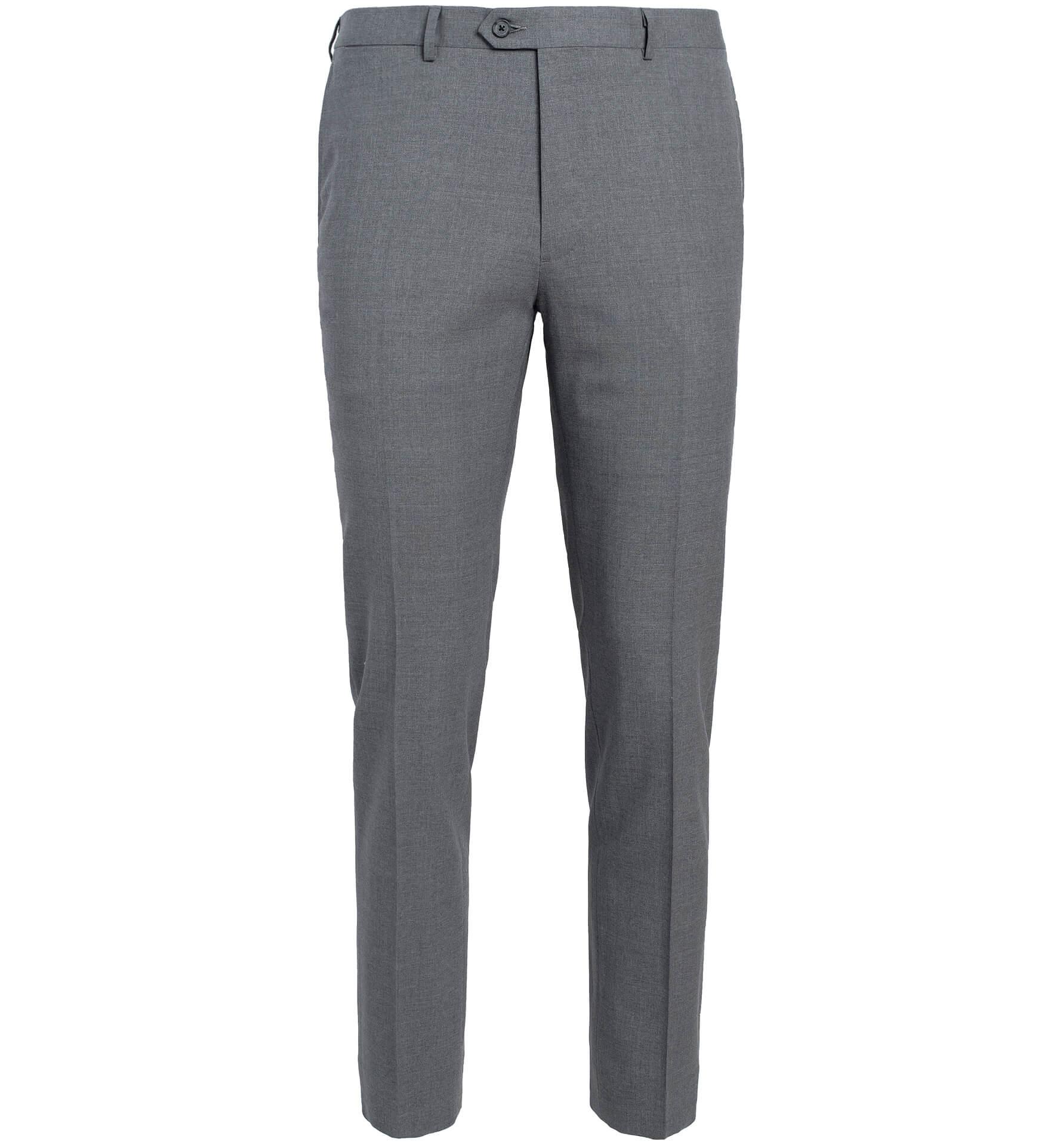 Zoom Image of Allen Grey Comfort Tropical Fresco Trouser