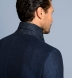 Zoom Thumb Image 6 of Bedford Navy Linen and Wool Hopsack Jacket