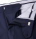Zoom Thumb Image 7 of Mercer Navy S150s Wool Suit with Cuffed Trouser