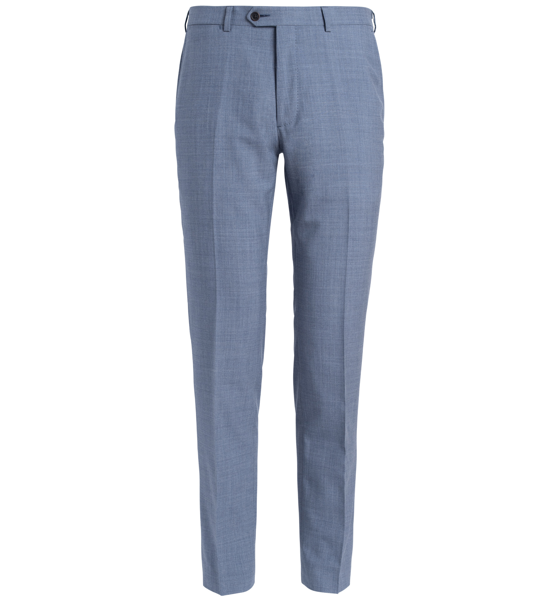 Zoom Image of Allen Light Blue S130s Tropical Wool Trouser