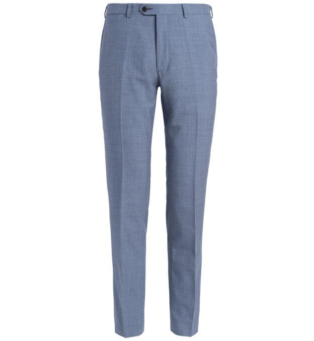 Allen Light Blue S130s Tropical Wool Trouser