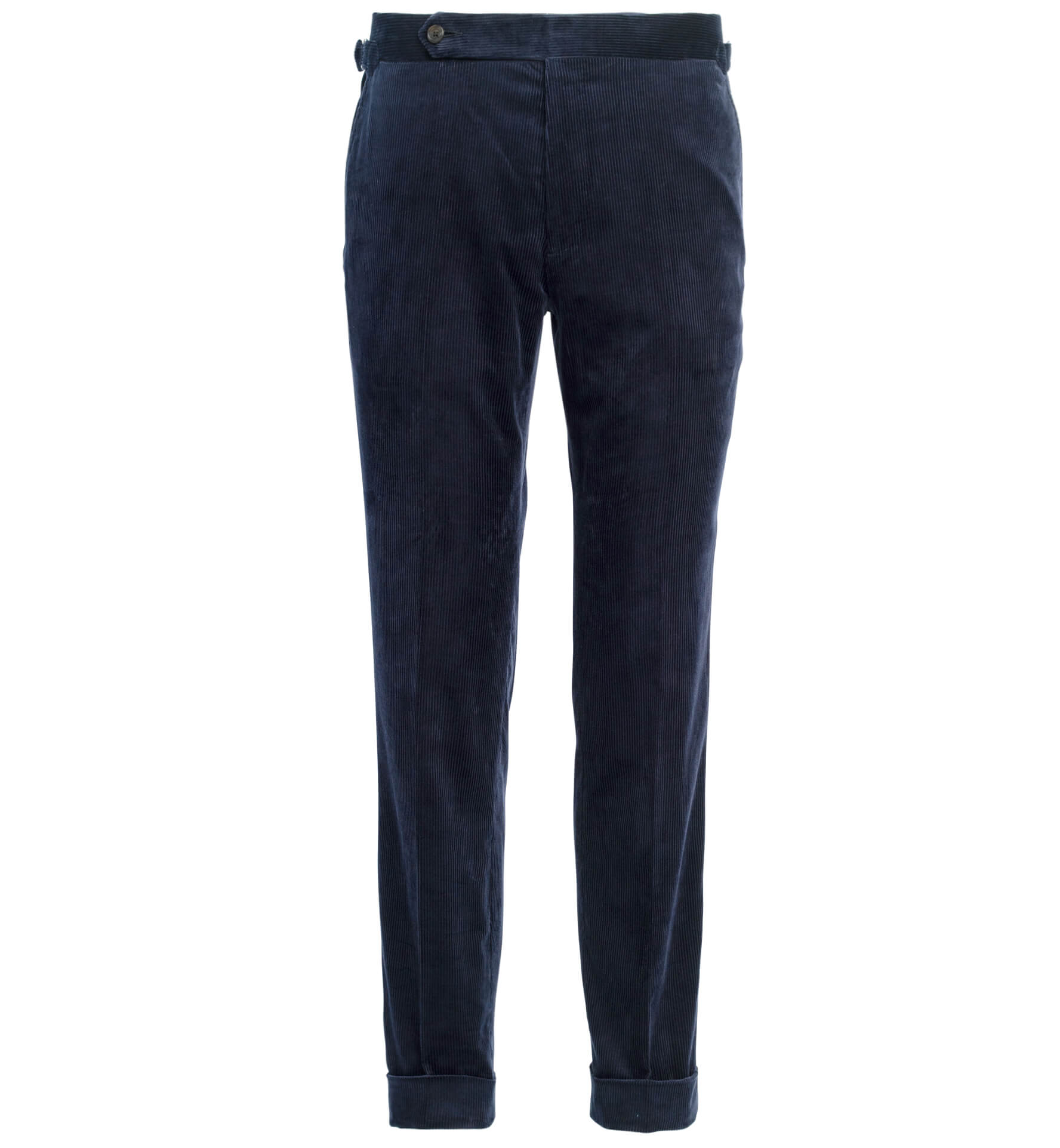 Zoom Image of Allen Navy Stretch Corduroy Trouser